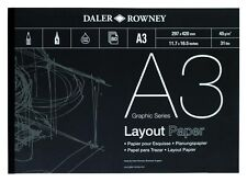 Daler Rowney Layout Paper - A3 (45gsm)