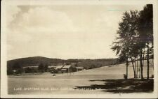 Spofford NH Club & Golf Course c1920s Real Photo Postcard