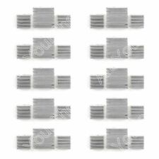 New 10Set 30x Aluminum Heatsink Cooler Kit Fit Cooling Raspberry Pi UA