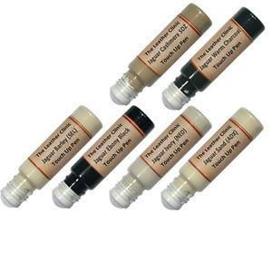 JAGUAR Leather Touch Up Scratch Repair Pen. All Colours & Custom Paint Dye.
