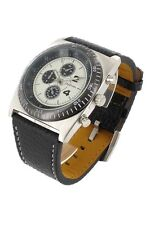 orologio crono-look Jay Baxter cinturino vera pelle-garanzia-nuovo- B721 C
