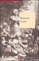 Emilio, JEAN-JACQUES ROUSSEAU, EDITORI LaTERZA, LIBRI CODICE:9788842070290