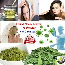 Organic Dried Neem Leaves & Powder 100% Natural Herbs 50g - 500g Free Shipping