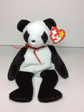 Ty Beanie Baby Fortune Panda Bear 5th Generation Hang Tag 1998 4cbb89dccf