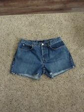 J Crew Cutoff Jean Shorts Button fly size 8