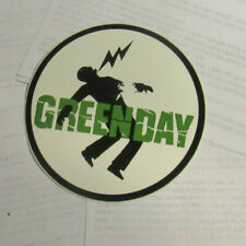 GREEN DAY STICKER COLLECTIBLE RARE VINTAGE 1990S METAL LIVE WINDOW DECAL