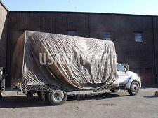 Truck Car Cover Sun Shade Garden Party Fun Parachute Man Cave Camouflage Netting