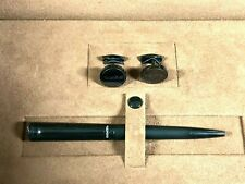 GIANTTO Gift Set Pen, Cufflinks in Leather Box