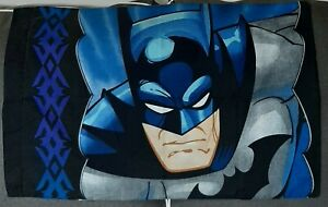 Vintage 2005 Batman Twin Bed Sheet Set Superhero DC Comics EUC
