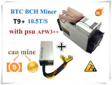 NEW Bitmain Antminer T9+ 10.5TH/s w/PSU - IN HAND READY TO SHIP. USA SELLER!!!