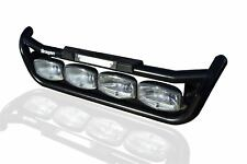 To Fit Mercedes Actros MP4 Black Grill Light Bar C + Step Pad + Amber Side LEDs