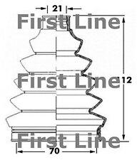 FCB6067 FIRST LINE CV JOINT BOOT KIT fits Citroen C2, Fiat Panda