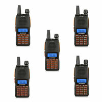 DHL to AU 5x Baofeng GT-5TP V/UHF Dual-PTT 8W HP Two-way Ham Radio Walkie Talkie