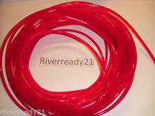 "1/8"" I.D. Red Fuel-Gas-Line-Hose 1/4"" O.D. PWC Motorcycle Jet-Ski Sold x Foot"