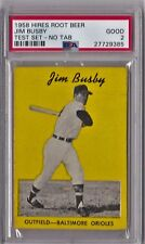 1958 Hires Root Beer Test Set Jim Busby No Tab PSA 2 HS117