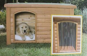 Precision Pet Products Outback Dog House Door in Clear Size: Medium/Large...