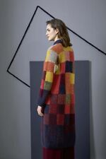 Lang Yarns Alpaca Superlight/Mohair Luxe Knitting Pattern Langer Mantel As Dow