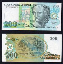 200 cruzeiros  Brasil 1990  FDS/UNC  B-01