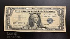 USA - 1957  $1 Silver Certificate  ( Blue Seal ) | VF