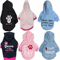 Pet Clothes Jacket Hoodie  Sweater Vest Small Dog Puppy Cat Winter Warm Coat
