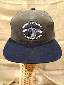 OLYMPIA FIELDS CC Country Club SENIOR OPEN Ball Cap~One Size~Buckle Adjust~NWT