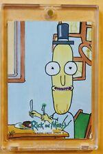 2019 Cryptozoic Rick & Morty Season 3 Artist Sketch Card Signed: MICHAEL MUNSHAW
