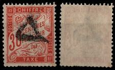 TAXE DUVAL 30c Rouge-Orange, Oblitéré = Cote 100 € / Lot Timbre France n°34