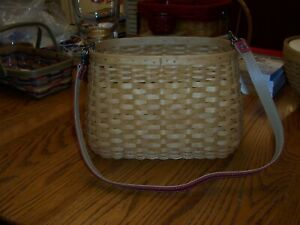 Longaberger Rare Basket with 2 protectors