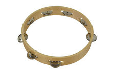 Bryce Tambourine 10   inches - Traditional wood construction