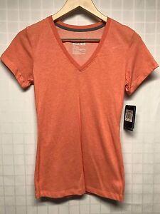 Nike / Women's Training Shirt / Dri-Fit / Slim Fit / Orange / X-Small / $25