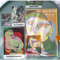Handwerk Papier Sticker Etiketten für Tagebuch Frische Aufkleber Berühmte Kunst