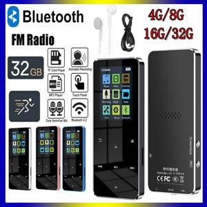 Bluetooth 4.2 MP3 MP4 Player Lossless Sound HIFI Music Video Media FM Radio UK