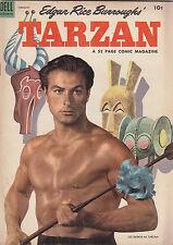 Tarzan #53 Lex Barker photo fc/Wheaties ad bc 1954 DELL Edgar Rice Burroughs ERB
