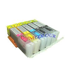 5 refillable ink cartridge auto reset for Canon PGI-670 CLI-671 570 571 MG6866