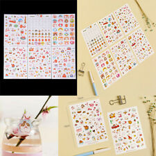 6 Sheets Cute Cartoon Molang Rabbit Sticker DIY Diary Scrapbook Decal StickersCA