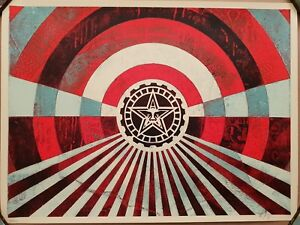 Shepard Fairey (OBEY) - Tunnel Vision Blue - S/N/400 - 2018