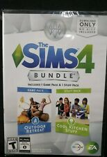 NEW - Sims 4 Bundle: Outdoor Retreat & Cool Kitchen Stuff (PC Windows / Mac)