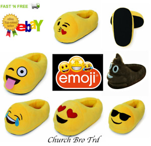 New Cute Unisex Emoji Soft Warm Comfy Plush Home Indoor Slippers,Shoes
