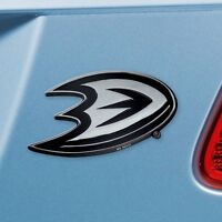 Anaheim Ducks Heavy Duty Metal 3-D Chrome Auto Emblem