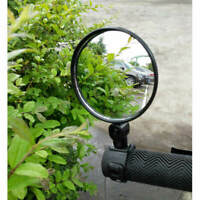 360°Safe Wide Rear View Rearview Mirror Cycling Bike Bicycle Handlebar