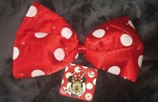 Disney Parks!~Mini Mouse Red Spotted light Up Bow~Dress-Up Costume Accessory~NWT