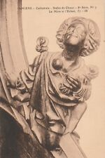 """*Church Postcard-""""Amiens Cathedral"""" -The Mother & Child- /Foreign/ (U1-308)"""