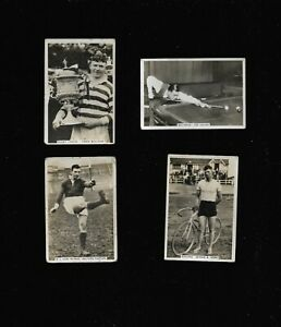 Sporting Events and Stars 1935 Senior Service Cigarette Cards - Choice of Cards