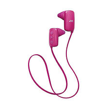 JVC Gumy Sports Bluetooth Wireless Stereo  In-Ear Headphones - Pink New Uk