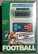 ORIGINAL 1977 MATTEL ELECTRONICS HANDHELD FOOTBALL 1 ONE GAME **** Box Only ****