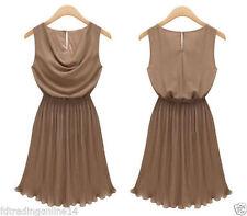 Damenkleider mit Wasserfallausschnitt Normalgröße