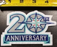 Seattle Mariners 20TH ANNIVERSARY Aprox. 4.5 inch IRON ON PATCH~FREE SHIPPING~