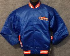 Vintage 80s Cleveland CAVALIERS Cavs STARTER Jacket SATIN NWT NEW Old Stock MED