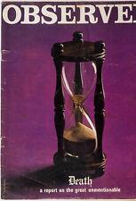 Caroline Coon COLIN JONES Roald Dahl BARRY LATEGAN Observer magazine vtg