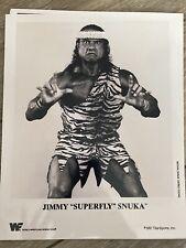 Superfly Sunka Vintage Wrestling WWE WWF 8x10 Promo Photo 1991